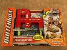 Matchbox Cliff Hanger Fire Station Play on the Edge New in Box