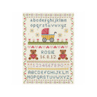 Anchor Counted Cross Stitch Kit Classic Baby Birth Record Sampler 285cm x 20cm