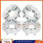 4 15 Wheel Spacers Adapters 6x55 Fits Toyota 4Runner GMC Canyon Hummer H3