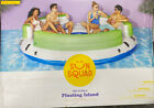Adult Inflatable Floating Island best pool floats for adults Sun Squad