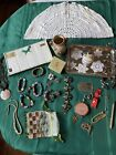 Estate sale Lot Sterling 10k Costume Jewelry Sets glass beads Neiman Marcus