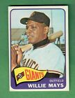 Vintage Willie Mays Baseball Card Timeline: 1951-1974 108