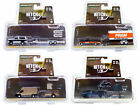 HITCH  TOW SET OF 4 PCS SERIES 21 1 64 DIECAST MODEL CARS BY GREENLIGHT 32210