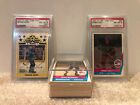 1977 OPC O-Pee-Chee WHA Set with GORDIE HOWE and BOBBY HULL graded PSA 8