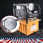 750W Electric Driven Hydraulic Pump Dual acting Solenoid Valve 1400 RPM 110V NEW