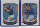2013 Bowman Chrome Baseball Prospect Variation Short Prints Guide 47