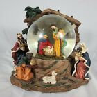 Holy Family Nativity Scene Snow Globe Water Globe Snow Dome with Music