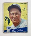 Lou Gehrig Cards, Rookie Cards, and Memorabilia Guide 48