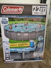 Coleman 22ft x 52 Power Steel Swim Vista II Swimming Pool Local Pickup