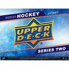 2020-21 Upper Deck Series 2 Hockey Sealed Hobby Box PRESALE MARCH