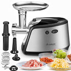 Heavy Duty Electric Meat Grinder  Food Mincer  Sausage Stuffer Stainless Steel
