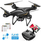 SNAPTAIN Full HD 1080P Live Video Camera Drone for Adults Voice Gesture Control