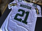 100% Authentic Reebok Green Bay Packers Charles Woodson #21 Jersey SZ 50