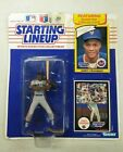 1990 Starting Lineup Darryl Strawberry Rookie Year Card and Figure.
