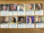 2011 Rittenhouse Eureka Seasons 1 & 2 - Autograph card pick one