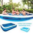 Large Family Swimming Pool Outdoor Garden Summer Inflatable Kids Paddling Pools