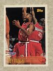 1997  LOY VAUGHT - Kenner Starting Lineup Card - SLU - LOS ANGELES CLIPPERS