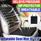 3d Inflatable Car Seat Cover Chair Air Cushion Back Support Pads Mat Breathable