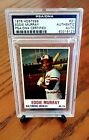 Eddie Murray Cards, Rookie Cards and Autographed Memorabilia Guide 43