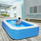 1207222 Inflatable Swimming Pool Blow Up Family Kid Pool For Indoor Outdoor