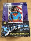 1978 Topps Superman The Movie UNOPENED Wax Box 36 Packs BBCE WRAPPED