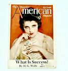1923 The December American Magazine HG Wells on Success Earl Christy cover