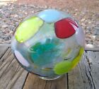 Lincoln City Glass Company 2006 Hand Blown Float Ball 6 Diameter Excellent Cond