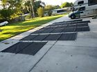 Pool Fence with Self Closing Magna Latch Gate Black 75 FT long 4tall