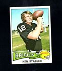 The Snake Enters the Hall of Fame! Top 10 Ken Stabler Football Cards 26