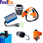 Motorcycle Ignition Coil+CDI Box+Air Filter Kit For GY6 50cc 70cc 90cc Scoote
