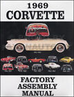 1969 Corvette Assembly Manual BOUND Chevy Factory Exploded Views Parts Chevrolet