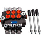 3 Spool Hydraulic Control Valve 11gpm Double Acting Cylinder for Log Splitters
