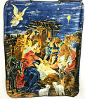 Nativity Scene Fleece Blanket Throw Christmas Christ Jesus Mary Joseph Northwest