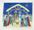 Susan Roberts Nativity Scene Handpainted Needlepoint Canvas 790
