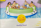 6 Person Inflatable Lounge Adult Inflatable Floating Island Pool  Lake Fun