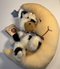 Boyds Bears The Head Bean Collection Classic Beary  Tales Series. Cow & Moon.