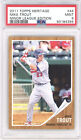 2011 Topps Heritage MIKE TROUT Minor League Edition Rookie RC PSA 9 MINT #44