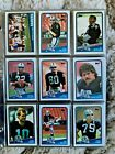 1988 TOPPS FOOTBALL SET #1-396 - Near Mint to Mint Cards - Bo Rookie +