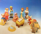 House of Lloyd CHILDS FIRST 1st NATIVITY SET 13 PC Christmas Holy Family PVC Toy