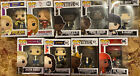 Funko Pop Rocks Lot Of 9 Vaulted Collection Exclusives 2017-2020