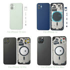 Glass Back Housing Battery Cover Replacement For iPhone 12 12mini 12 Pro Max Lot