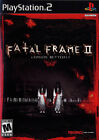 Fatal Frame II Crimson Butterfly PS2 New Playstation 2