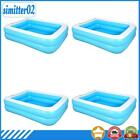 Summer Inflatable Swimming Pool Adults Kids Thicken PVC Rectangle Bath Tub