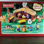 Fisher Price Little People Christmas Story Nativity Lights + Sounds Complete