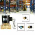 DC 12V Electric Solenoid Valve Water Air 1 2 Brass Normal Closed N C