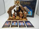 RARE SIGNED FONTANINI NATIVITY SET 5 NEW