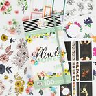 Happy Planner Flower Power Mega Sticker Book Value Pack 100 Sheets 1392 Pieces