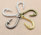 50 150pcs DIY Alloy jewelry necklace accessories delicate hook 385x185mm
