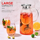 81 Oz Glass Pitcher Water Pitcher With Lid Iced Tea Pitcher Lemonade Pitcher