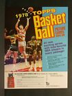 1978-79 Topps Basketball Cards Order Sale Sell Sheet NO CARDS! Sku38